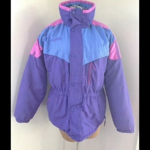 VTG 90S COLUMBIA COLOR BLOCK  JACKET GIRLS 14/16
